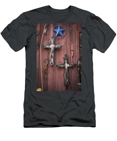 Hill Country Crosses Men's T-Shirt (Athletic Fit)