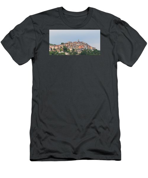 Men's T-Shirt (Slim Fit) featuring the photograph Hilltop by Richard Patmore