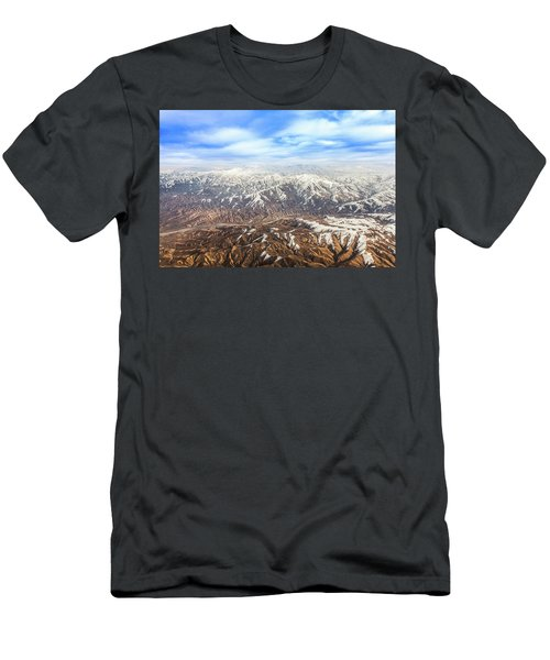 Hindu Kush Snowy Peaks Men's T-Shirt (Athletic Fit)