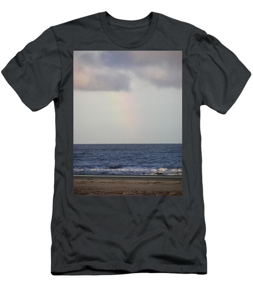 Hint Of A Rainbow Men's T-Shirt (Athletic Fit)