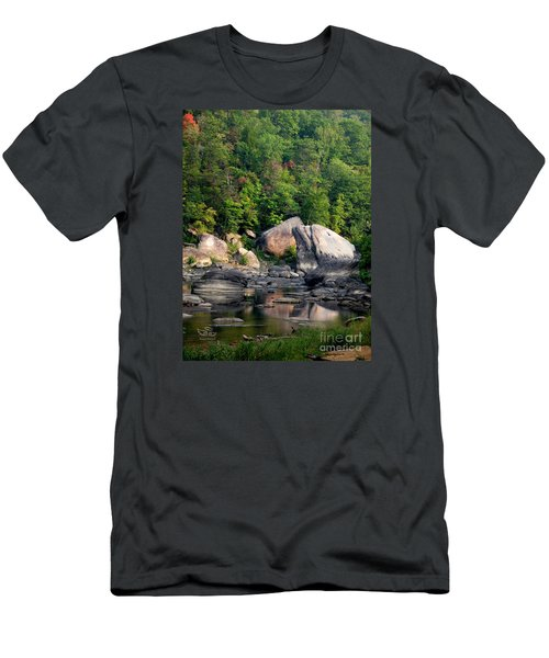 Men's T-Shirt (Athletic Fit) featuring the photograph Hint Of Autumn by Beauty For God