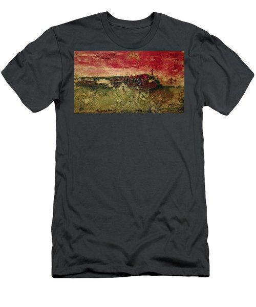 His Crucifiction Men's T-Shirt (Athletic Fit)