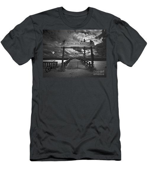 Historic Anna Maria City Pier 9177436 Men's T-Shirt (Athletic Fit)