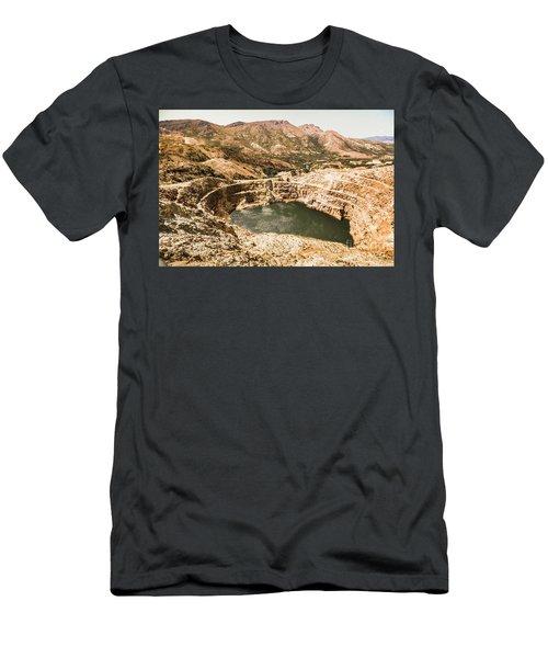 Historic Iron Ore Mine Men's T-Shirt (Athletic Fit)