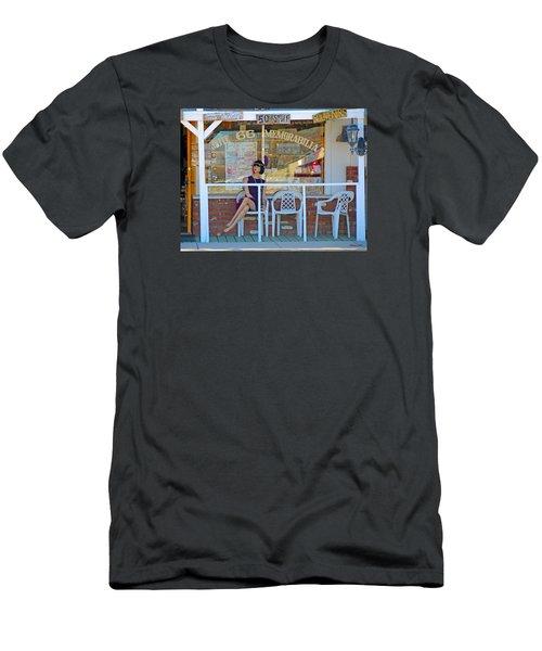 Historic Route 66 Memorabilia Men's T-Shirt (Athletic Fit)