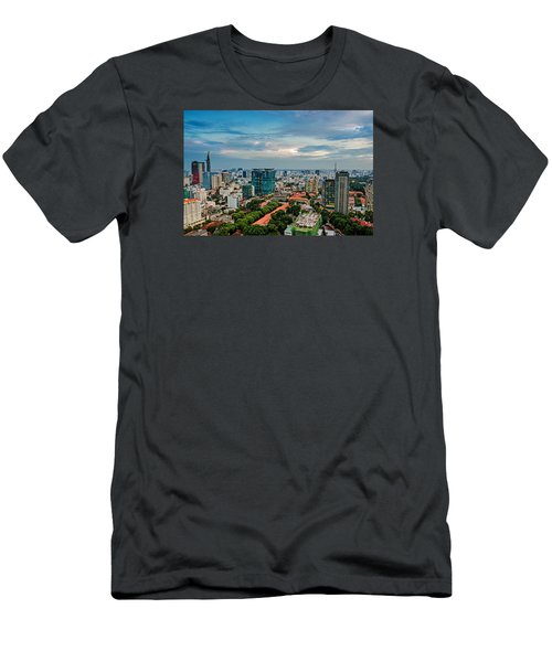 Ho Chi Minh City Men's T-Shirt (Athletic Fit)