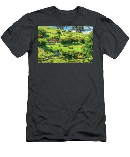 Hobbit Hills Men's T-Shirt (Athletic Fit)
