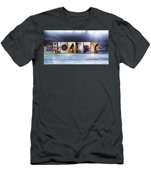 Hockey Men's T-Shirt (Athletic Fit)