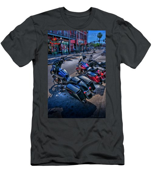 Hogs On 7th Ave Men's T-Shirt (Athletic Fit)