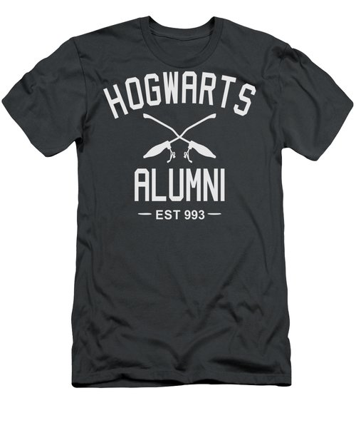 Hogwarts Alumni Men's T-Shirt (Athletic Fit)