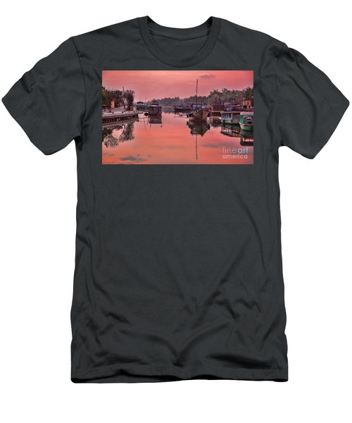Hoi An Sunset  Men's T-Shirt (Slim Fit) by Chuck Kuhn