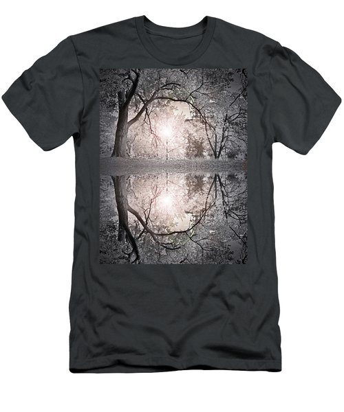 Men's T-Shirt (Slim Fit) featuring the photograph Hold Me In This Pale Light by Tara Turner