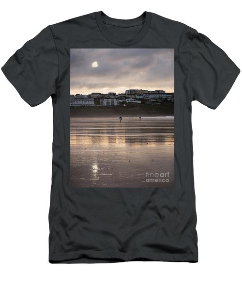 Men's T-Shirt (Slim Fit) featuring the photograph Hole In The Clouds by Nicholas Burningham