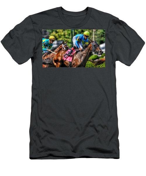 Holiday Bonus W Irad Ortiz,jr Men's T-Shirt (Athletic Fit)