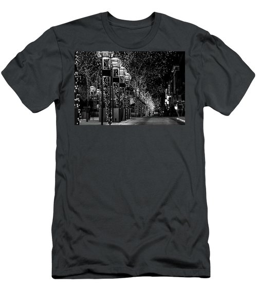 Holiday Lights - 16th Street Mall Men's T-Shirt (Athletic Fit)