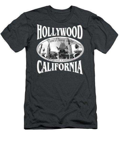 Hollywood California Design Men's T-Shirt (Athletic Fit)