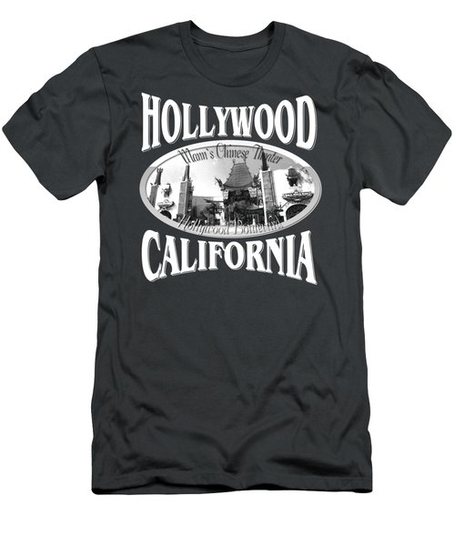 Hollywood California Design Men's T-Shirt (Athletic Fit)
