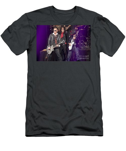 Hollywood Vampires Depp Cooper Perry Men's T-Shirt (Athletic Fit)