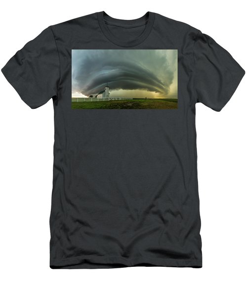 Men's T-Shirt (Athletic Fit) featuring the photograph Holy Supercell  by Aaron J Groen