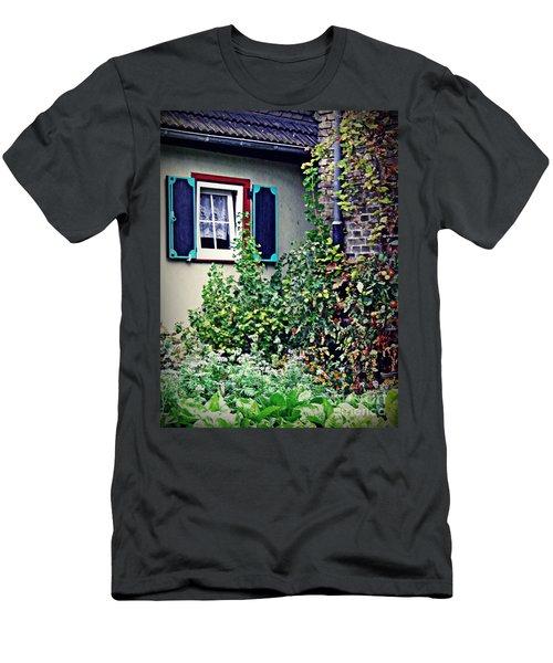 Home And Garden Schierstein 8   Men's T-Shirt (Slim Fit) by Sarah Loft
