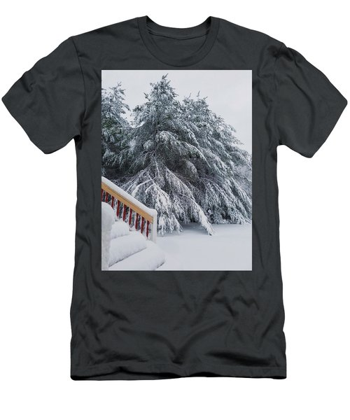 Home For The Blizzard Men's T-Shirt (Athletic Fit)