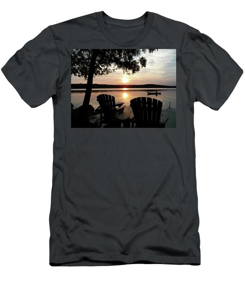 Home From A Paddle Men's T-Shirt (Athletic Fit)
