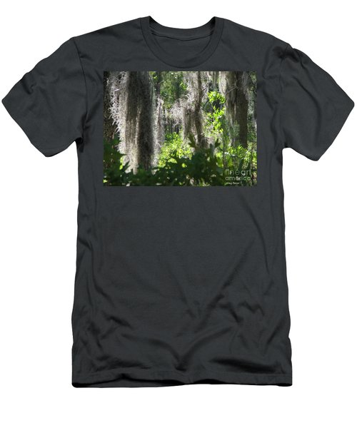 Men's T-Shirt (Slim Fit) featuring the photograph Home by Greg Patzer