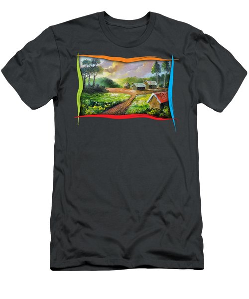 Home In My Dreams Men's T-Shirt (Athletic Fit)