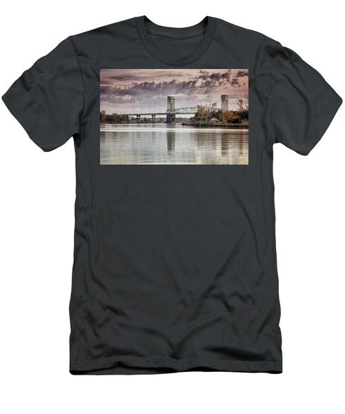 Cape Fear Crossing Men's T-Shirt (Slim Fit) by Phil Mancuso