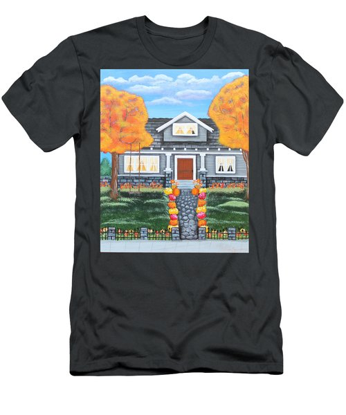Home Sweet Home - Comes Autumn Men's T-Shirt (Athletic Fit)