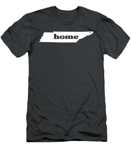 home TN on Green Men's T-Shirt (Athletic Fit)