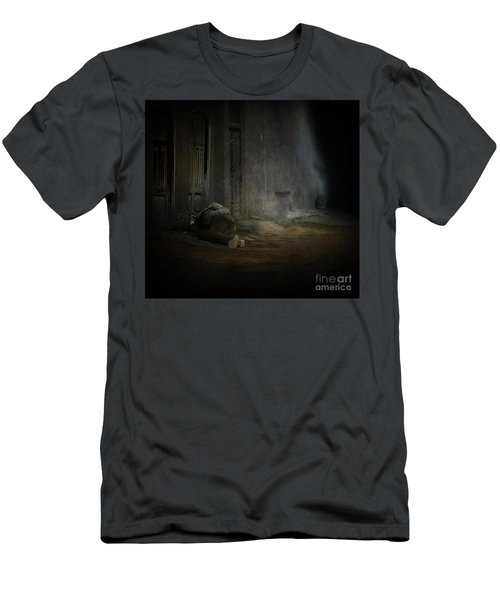 Homeless In China Men's T-Shirt (Athletic Fit)
