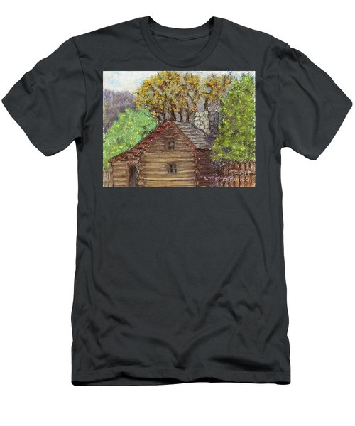 Homestead Men's T-Shirt (Slim Fit) by Laurie Morgan
