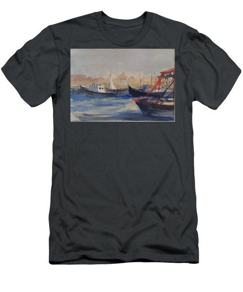Homeward Bound Men's T-Shirt (Slim Fit) by Heidi Patricio-Nadon