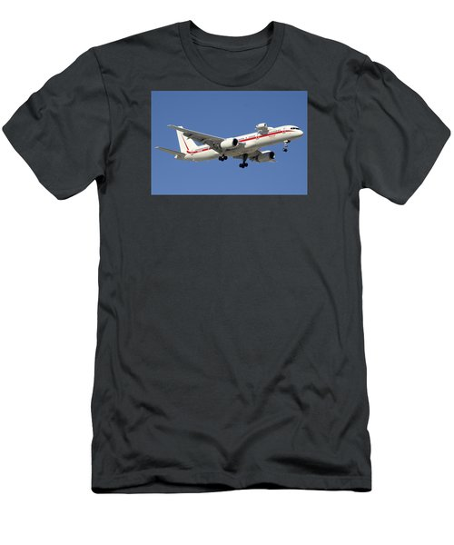 Honeywell Boeing 757-225 N757hw Phoenix Sky Harbor December 7 2015 Men's T-Shirt (Slim Fit) by Brian Lockett