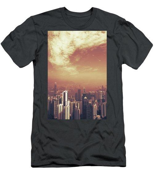 Men's T-Shirt (Slim Fit) featuring the photograph Hong Kong Portrait by Joseph Westrupp