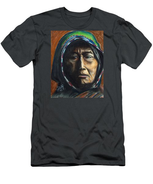 Hooded Woman Men's T-Shirt (Athletic Fit)