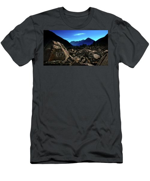 Men's T-Shirt (Athletic Fit) featuring the photograph Hope by John Poon