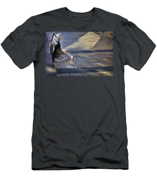 Hope On Champs-elysee Men's T-Shirt (Athletic Fit)