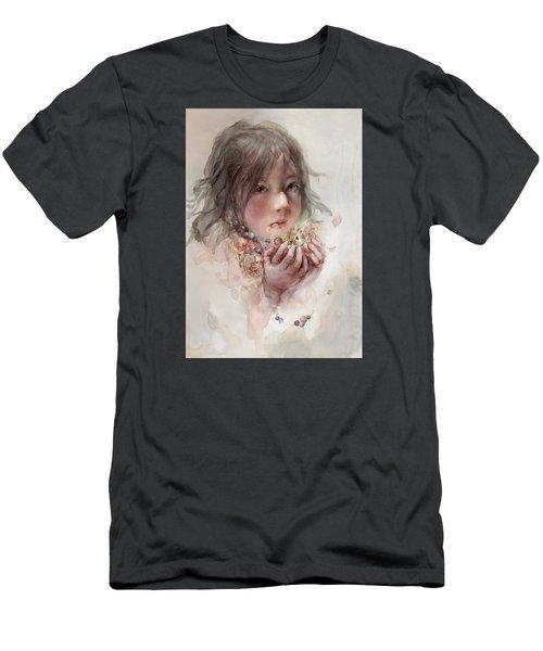 Hope Men's T-Shirt (Slim Fit) by Te Hu
