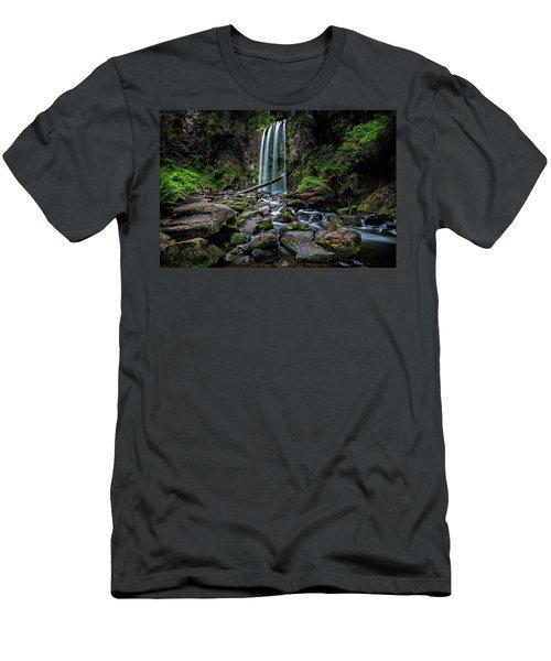Hopetoun Falls Men's T-Shirt (Slim Fit) by Mark Lucey