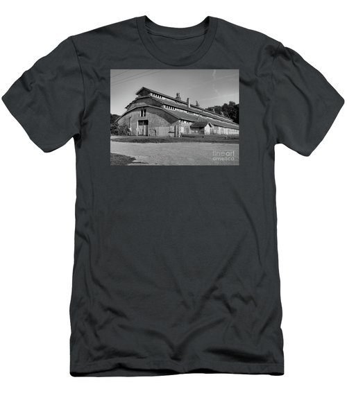 Horse Barn Exited Men's T-Shirt (Athletic Fit)