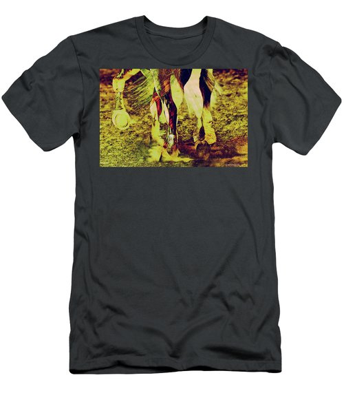 Horse Legs Men's T-Shirt (Athletic Fit)