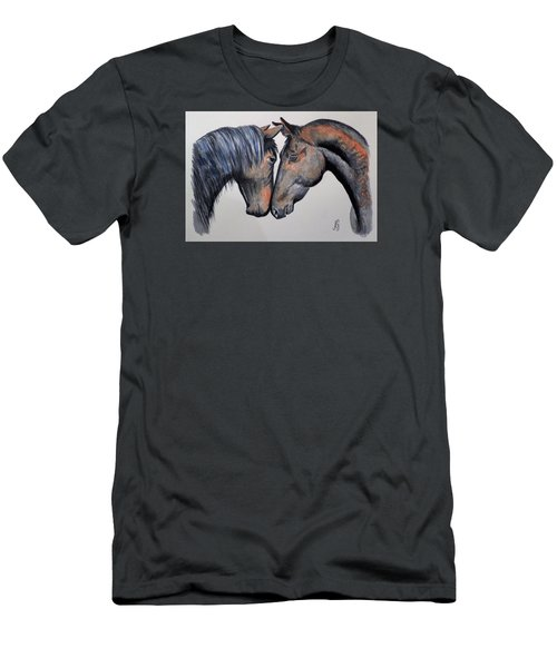 Horse Lovers Men's T-Shirt (Athletic Fit)
