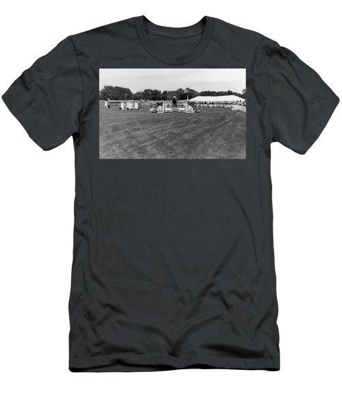 Horse Show  Men's T-Shirt (Athletic Fit)