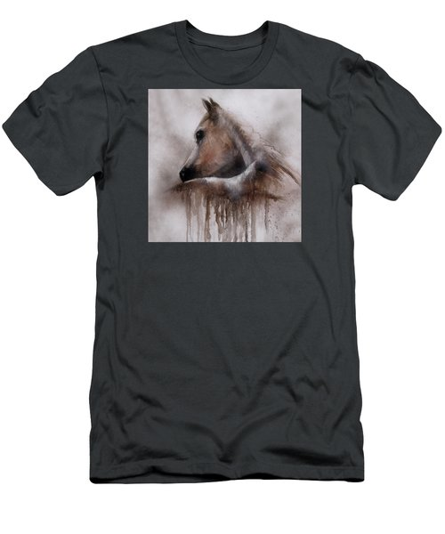 Horse Shy Men's T-Shirt (Athletic Fit)