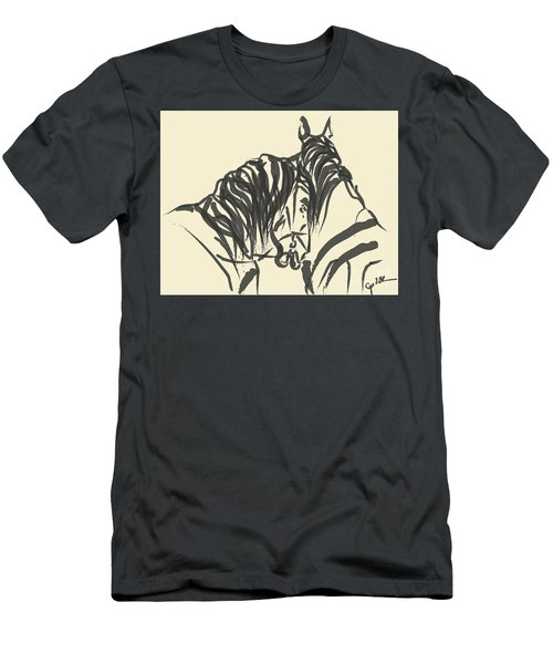 Horse - Together 9 Men's T-Shirt (Athletic Fit)