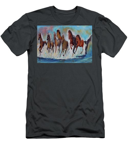 Horses Of Success Men's T-Shirt (Athletic Fit)