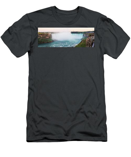 Horseshoe Falls At Dusk Men's T-Shirt (Athletic Fit)