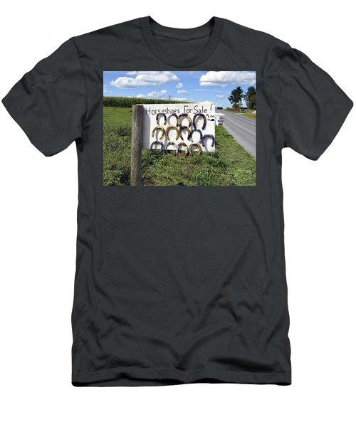 Horseshoes For Sale Men's T-Shirt (Athletic Fit)
